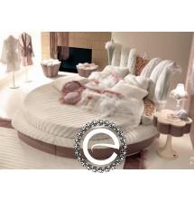 Кровать круглая KING