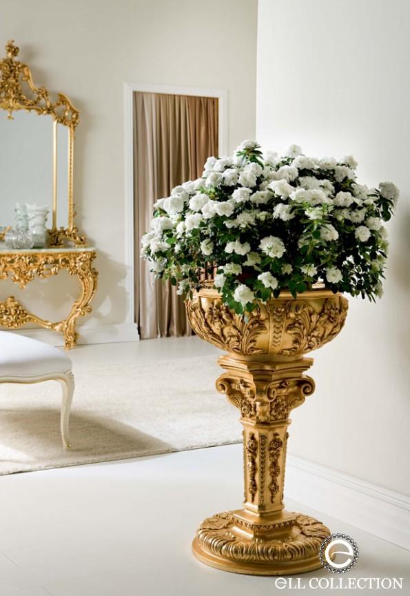 Фото подставка с цветами для гостиной
